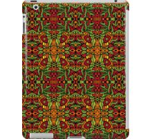 Psychedelic tribal jungle ornament iPad Case/Skin