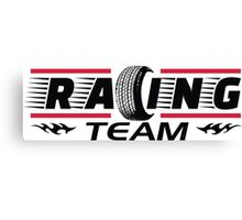 Racing Team Canvas Print