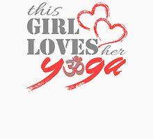This Girl Loves her YOGA Women's Fitted Scoop T-Shirt