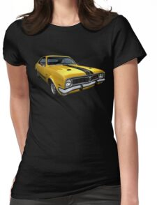 Australian Muscle Car - HT Monaro Womens Fitted T-Shirt