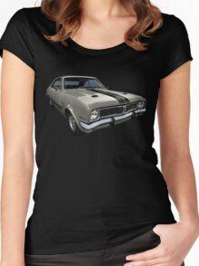 Australian Muscle Car - HT Monaro Women's Fitted Scoop T-Shirt