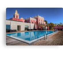 The Palace Swimming Pool Canvas Print