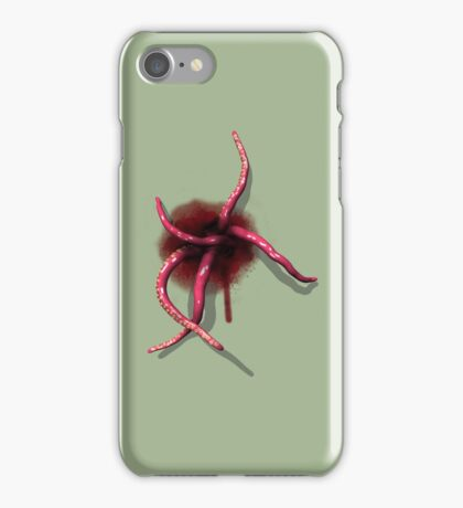 Tentacles emerging from within iPhone Case/Skin