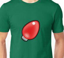 Christmas light - red Unisex T-Shirt