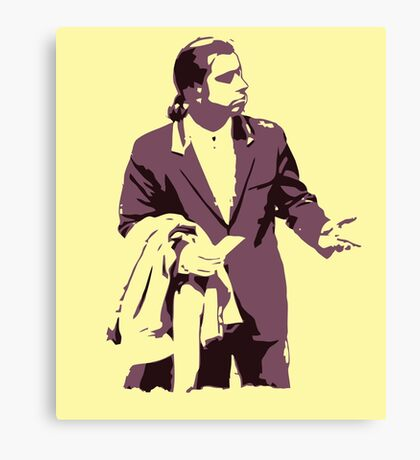Vincent Vega 0hmm big Canvas Print