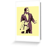 Vincent Vega 0hmm big Greeting Card