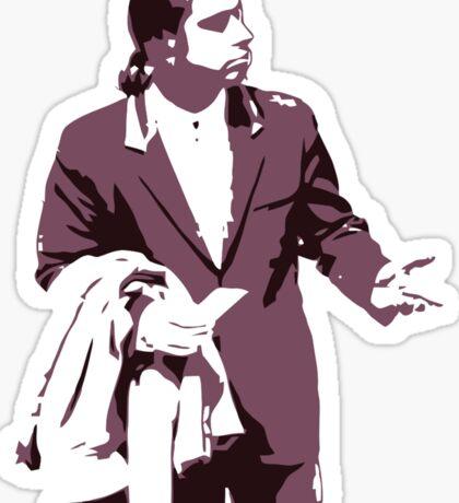 Vincent Vega 0hmm big Sticker