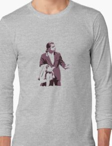 Vincent Vega 0hmm big Long Sleeve T-Shirt