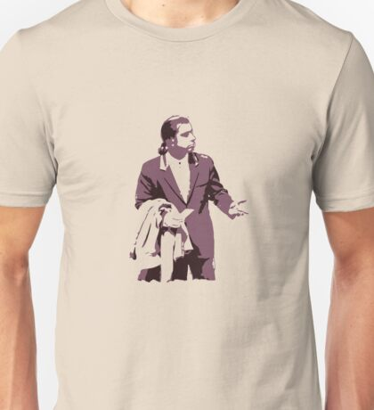 Vincent Vega 0hmm big Unisex T-Shirt