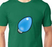 Christmas light - blue Unisex T-Shirt