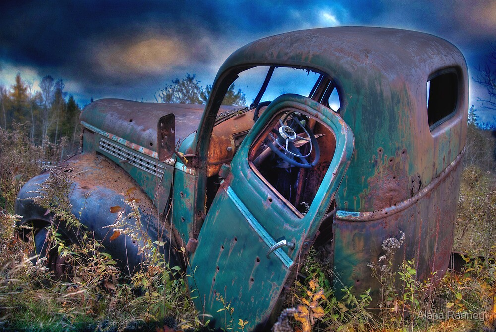 Old Truck by Alana Ranney