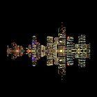 Brisbane at Night by Ommik