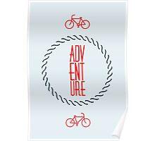 Adventure, Printable Type Art, Typographic Motivational Print, Minimalist Quote Print, Inspirational Quote, Minimal Art Poster