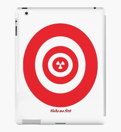 Nuke me first iPad Case/Skin