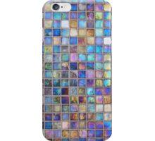 Iridescent glass mosaic iPhone Case/Skin