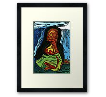 """Famous Smile"" by Dwaalhaas Framed Print"