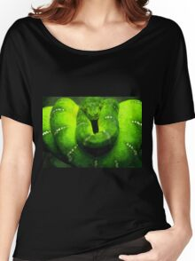 Wild nature - green snake Women's Relaxed Fit T-Shirt