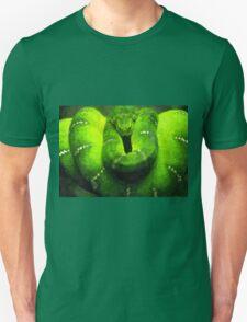 Wild nature - green snake Unisex T-Shirt