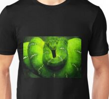 Wild nature - green snake Unisex T-Shirt