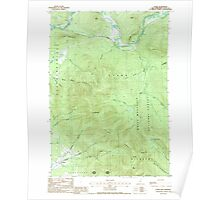 USGS TOPO Map New Hampshire NH Stark 329804 1988 24000 Poster