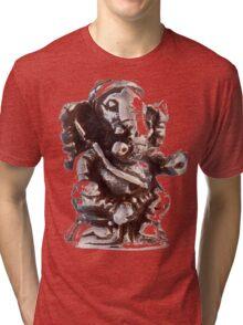 RUSTIC GANESH Tri-blend T-Shirt