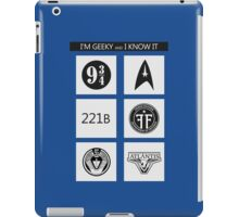 GEEKY POLICE BOX 2 iPad Case/Skin