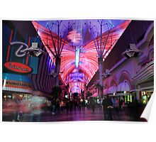 Fremont Street Experience Poster