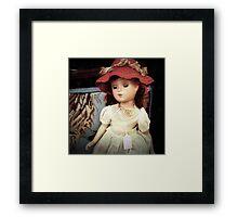 Vintage Doll for Sale Framed Print