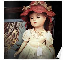 Vintage Doll for Sale Poster