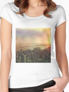 NYC 2 Women's Fitted Scoop T-Shirt