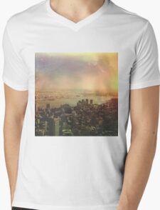 NYC 2 Mens V-Neck T-Shirt
