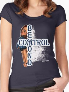 NY Beyond Control  Women's Fitted Scoop T-Shirt
