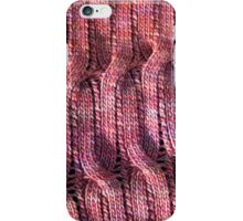 Onda Rosa knitted cables and lace iPhone Case/Skin