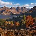 Five Sisters of Kintail, from Mam Ratagan. North West Scotland. by photosecosse /barbara jones
