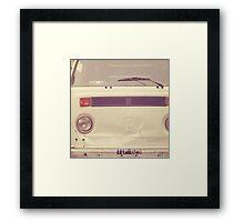 VW Bus Combi Volkswagen  Framed Print