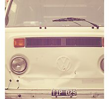 VW Bus Combi Volkswagen  Photographic Print