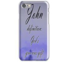 John iphone case iPhone Case/Skin