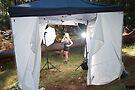 Studio Tent ( Behind the scenes) by Nigel Donald