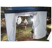Studio Tent ( Behind the scenes) Poster