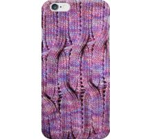 Onda Viola knitted cables and lace iPhone Case/Skin