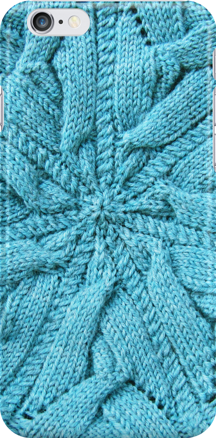 Circular knitted plaited cable   by knititude