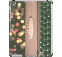 Typewriter and Magic Lights  iPad Case/Skin