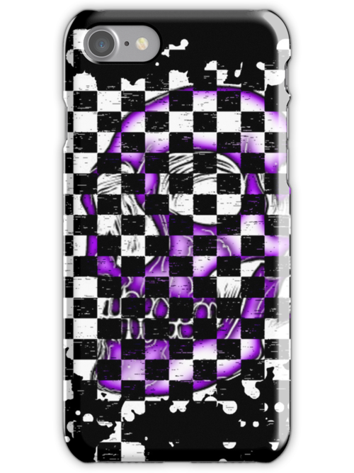 Skull checkered pattern 3 by MrBliss4