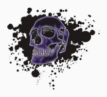Purple Glow Skull by MrBliss4