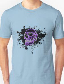 Purple Glow Skull T-Shirt