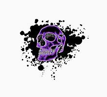 Purple Glow Skull Unisex T-Shirt