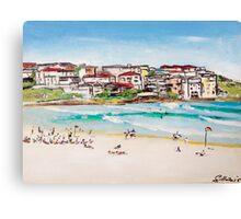 Bondi Beach at its best  Canvas Print