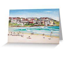 Bondi Beach at its best  Greeting Card