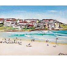 Bondi Beach at its best  Photographic Print