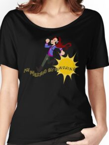Charlie Bradbury - I'm walking on sunshine Women's Relaxed Fit T-Shirt